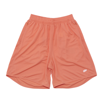 Basic Zip Shorts (salmon pink)
